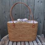 送料無料アタバッグバリアタバッグナチュラル天然素材手編み浴衣夏かごバッグショルダー内布裏地エスニックアジアン雑貨籠バッグバリ雑貨