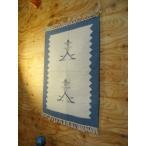 タペストリー ウールラグ おしゃれ 壁 玄関マット キリム 手織り 布 ファブリック エスニック