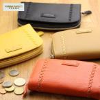 二つ折り財布 レディース KANSAI YAMAMOTO カンサイヤマモト 本革 ラウンドファスナー