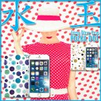 スマホケース 手帳型 全機種対応 iPhone7 iPhone6s Plus iPhone SE Xperia X Z5 Z4 Z3 Galaxy 水玉 jiang-ds816