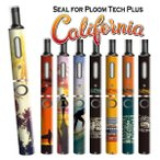 プルームテックプラス シール プルームテック プラス ケース スキンシール カバー 本体 Ploom Tech Plus シール 電子タバコ カリフォルニア pt08-023