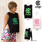 CLAP(クラップ) G-FLOWER(Gフラワー)スリットトップス|これぞCLAP的な鮮やかなカラーのフィットネスウェア