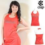 ショッピングトップス CLAP(クラップ) CCホルターネックトップス(キャミソール) レッドカモ(RED CAMO)