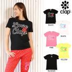 CLAP(クラップ) ラブクラップ2017 Tシャツ|かわいい「LOVE CLAP」&フラワーモチーフのデザイン オールラウンドに使い回せるクラップ定番Tシャツ