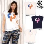 CLAP(クラップ) C.P.クラップ ドルマン Tシャツ|CLAPの「C」と「P」がモチーフのドットロゴデザインの定番シャツ