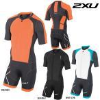 2XU メンズ Compression Full Zip Slvd Trisuit(コンプレッションフルジップスリーブドトライスーツ) トライアスロン用スーツ