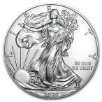 [保証書・カプセル付き] 2020年 (新品) アメリカ イーグル  1$ ウオーキング・リバティ 1オンス 銀貨