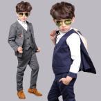 子供スーツ 男の子 卒業式 スーツ フォーマル 5点セット 100 110 120 130 140 150cm