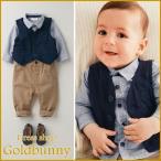 男の子 スーツ ベビースーツ 3点セット ベスト ブラウス パンツ フォーマル 男の子 フォーマル ベビースーツ ベビー 新生児 幼児 出産祝い