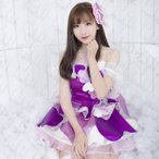 AKB48風 小嶋陽菜  ハート型ウイルス  打歌服 コスプレ 衣装 by-f0225【送料無料】(by-f0225)