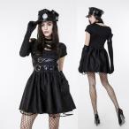ハロウィン警官ポリス婦警ダンスイベントパーティー仮装コスチュームコスプレ衣装ps2488(ps2488)