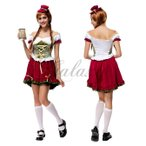ハロウィン ビールガール ドイツ メイド 民族衣装 コスプレ衣装 ps2709(ps2709)