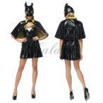 ハロウィンバットマンバットガールヒーロー英雄戦士コウモリ仮装セクシーコスプレ衣装ps2732(ps2732)