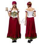 ハロウィン ビールガール ドイツ メイド 民族衣装 海賊 カリブ コスプレ衣装 ps2747(ps2747)