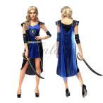 ハロウィン 民族衣装 ギリシャ 古代 ローマ 女王 女神 戦士 仮装 セクシー コスプレ衣装 ps2763(ps2763)