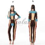 ハロウィン 民族衣装 インディアン 先住民 仮装 セクシー コスプレ衣装ps2850