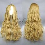 お姫様 ロリータ  ナナリーブラウン ロング 巻き髪 コスプレウィッグ  wig-016h