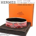 送料無料 未使用 展示品 美品 HERMES エルメス エマイユGM 七宝焼き ブレスレット バングル 中古