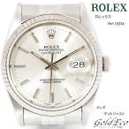 送料無料 オーバーホール&新品仕上げ済 ROLEX ロレックス デイトジャスト ref.16234 シルバー文字盤 中古 腕時計 超美品