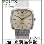 ROLEX ロレックス メンズ腕時計 チェリーニ 18金ホワイトゴー...--421200