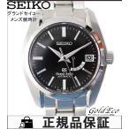 SEIKO セイコー グランドセイコー メンズ腕時計 メカニカル 自動巻き デイト表示 パワーリザーブ表示 SBGL005 シルバー ステンレス ブラック文字盤 中古