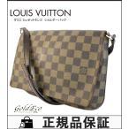 ショッピングVUITTON 送料無料 ルイヴィトン ダミエ ミュゼットタンゴ ショルダーバッグ N51301 ロングショルダー バッグ 中古 LOUIS VUITTON