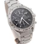 オメガ スピードマスターデイト 腕時計 メンズ 自動巻き ブラック文字盤 シルバー 3513.50 中古 送料無料 OMEGA