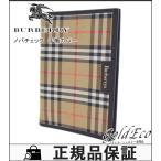 ショッピングBURBERRY バーバリー ノバチェック 手帳カバー システム手帳 レディース メンズ ベージュ 中古 BURBERRY