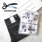 DENHAM デンハム 3枚パックT 胸ポケTシャツ 半袖Tシャツ 日本製 ナイトアンドデイ メンズ