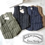 [TIME SALE 5/8(月)9:59終了] Rocky Mountain Featherbed ロッキーマウンテンフェザーベッド SIX MONTH VEST V-NECK キルティング