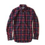 ショッピングINDIVIDUALIZED INDIVIDUALIZED SHIRTS インディビジュアライズドシャツ チェックネルシャツ INSH-00267 長袖シャツ