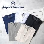 [TIME SALE 9/11(月)12:59終了] Nigel Cabourn ナイジェルケーボン ヘンリーネックT 8020021015 半袖Tシャツ メンズ