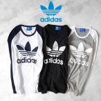 adidas アディダスオリジナルス トレフォイル ロンT BQZ49 AY7801 長袖Tシャツ originals メンズ レディース