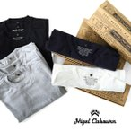 [最大2,000円クーポン発行中 5/1(月)9:59終了] Nigel Cabourn ナイジェルケーボン 3パックTシャツ 3-PACK GYM TEES ジムTシャツ 半袖Tシャツ 日本製 メンズ