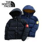 ザ ノースフェイス THE NORTH FACE キャンプシェラパーカ ダウンジャケット NDJ91705 ブラック ネイビー キッズ