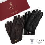 DENTS デンツ レザーグローブ 手袋 15-1043 ペッカリーレザー ライナー無し ギフト プレゼント メンズ