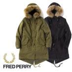 [タイムセール 12/8(金)朝8:59まで] Fred Perry フレッドペリー モッズパーカー モッズコート F6230 リアルファー レディース