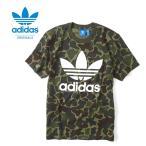 Yahoo!Golden State[最大2,000円クーポン発行中 8/21(月)9:59終了] adidas アディダスオリジナルス カモ柄 Tシャツ BK5861 MKU91 迷彩 カモフラ メンズ レディース
