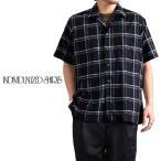 [TIME SALE 60%OFF] INDIVIDUALIZED SHIRTS インディビジュアライズドシャツ アスレチックフィット オープンカラー チェックシャ