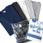 Yahoo!Golden State[最大2,000円クーポン発行中 8/21(月)9:59終了] [FINAL SALE] ベルバシーン ポケット付き クルーネックTシャツ Velva Sheen 2パック 2枚セット 半袖Tシャツ