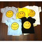JACKSON MATISSE ジャクソンマティス KIDS SMILE TEE キッズ スマイル ニコちゃん Tシャツ プリントT 半袖 子供服 男の子 女の子 120cm JM17AW007