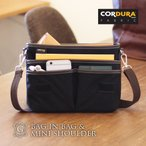 GOLDMEN バッグインバッグ 収納 バッグ 整理 メンズ インナーバッグ パソコン ショルダー クラッチ 小物 コーデュラ CORDURA 3way ビジネス カジュアル GA1903