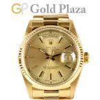 ロレックス ROLEX デイデイト 18038 91番 K18YG 自動巻き メンズ 腕時計 中古