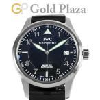 IWC スピットファイア マーク 15 パイロットウォッチ IW325311 SS Dバックル メンズ 腕時計 自動巻 黒文字盤 MARK XV 中古