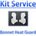Kit Service ボンネットヒートガード  WRX STI S4 型式: VA # S4用 キットサービス