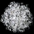 水晶さざれ 100g サイズ中 天然石 パワーストーン 浄化グッズ 高透明