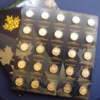 カナダ メイプルリーフ金貨 1g  25枚入り 2017年