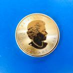 カナダ メイプルリーフ金貨...