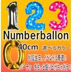 誕生日 風船 メール便送料無料 ナンバーバルーン 全4色 パーティーバルーン パーティー アルミ風船