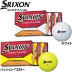 SRIXON スリクソン DISTANCE  ディスタンス ゴルフボール 1ダース(12個入)